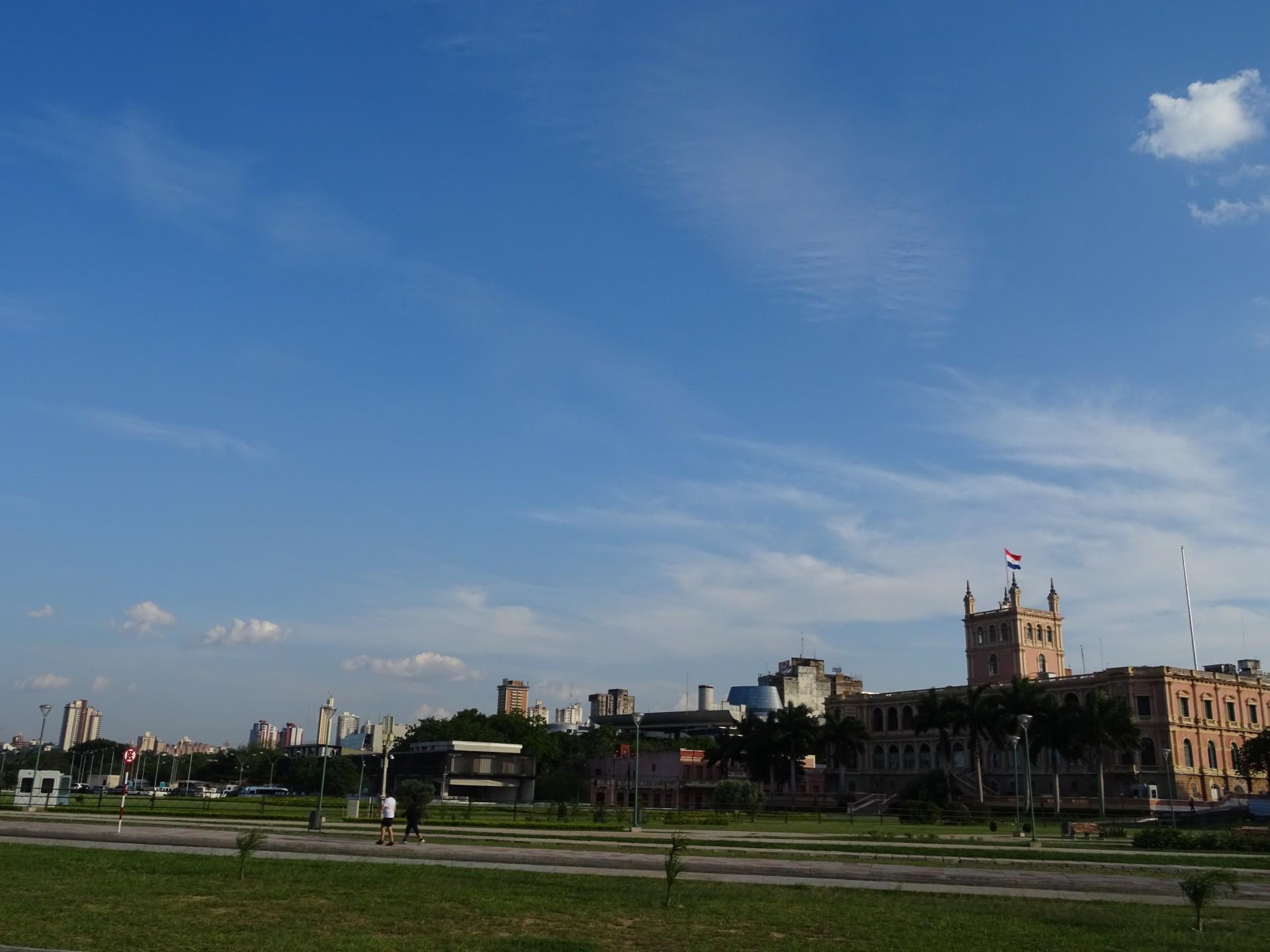 Asunción skyline.