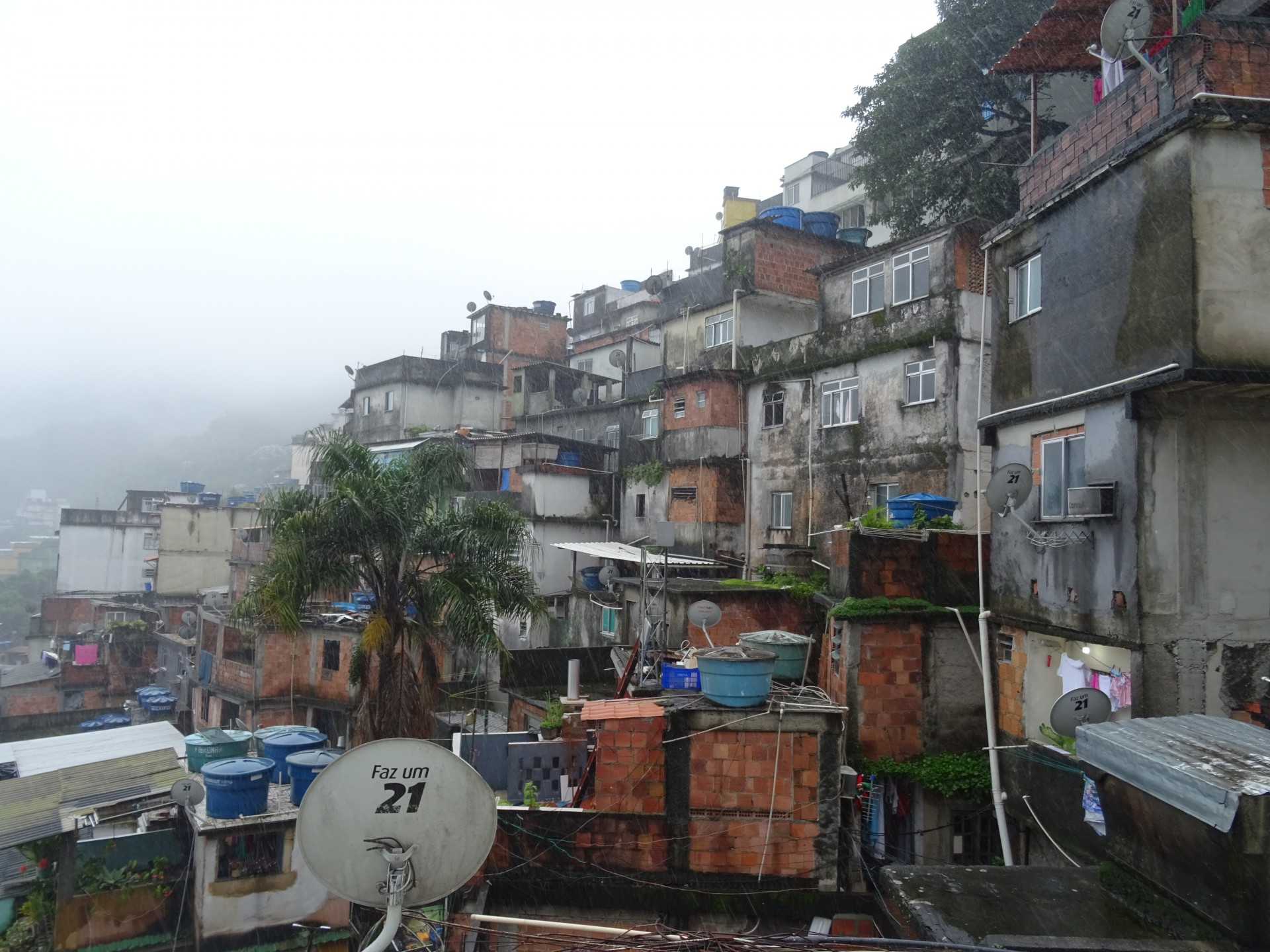 It looks like a favela.
