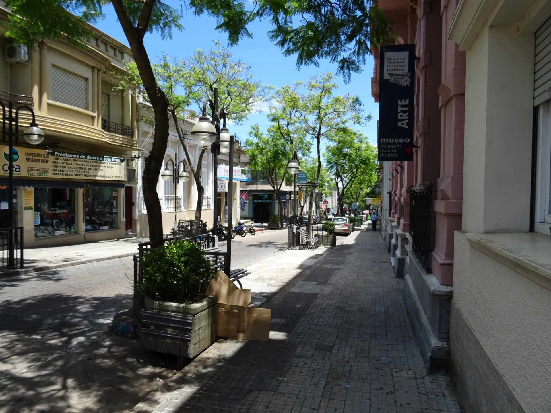 Perfectly nice looking streets in Salto.