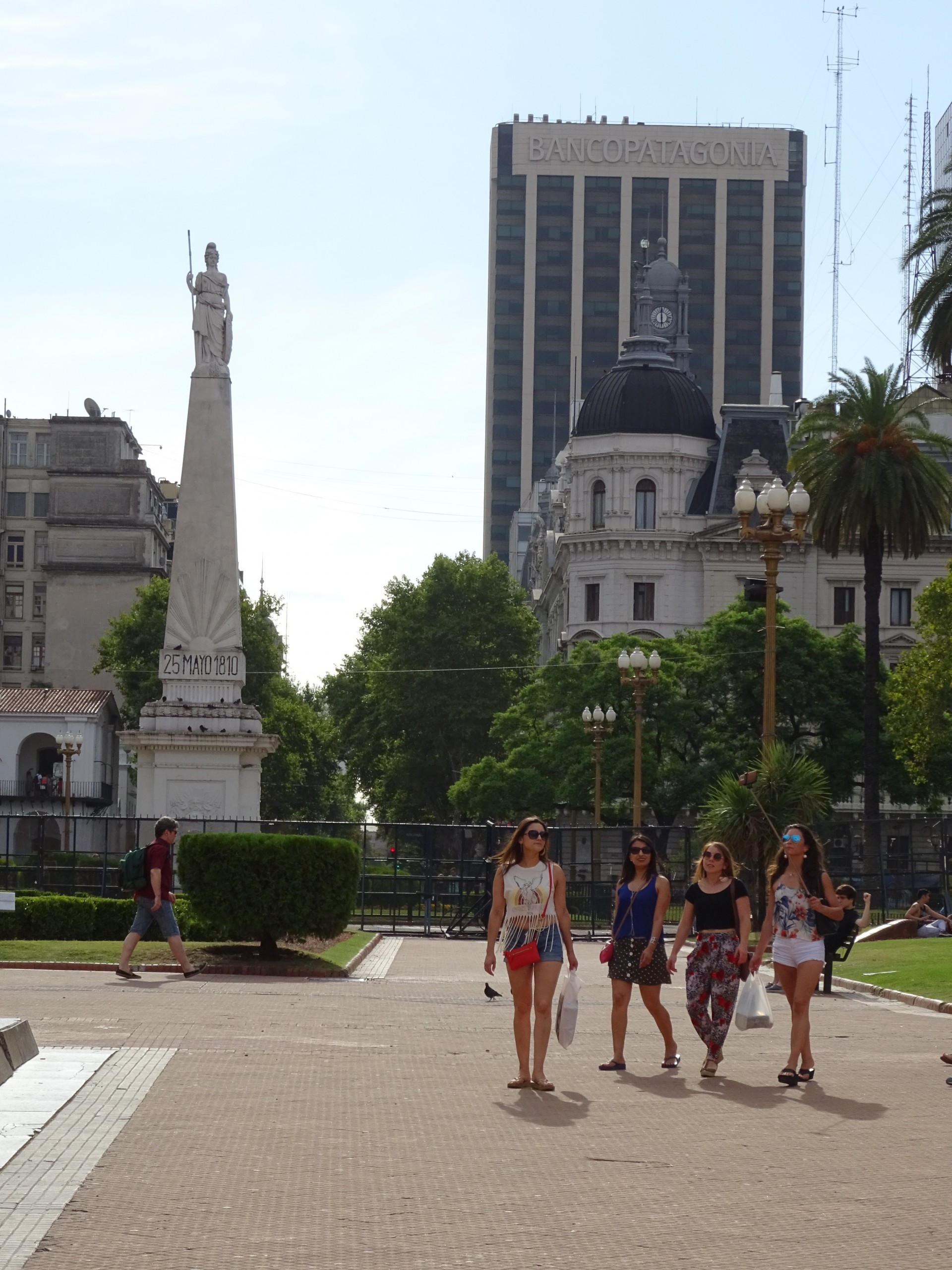 Plaza de Mayo, and the giant Banco Patagonia. It played an important role in my life!