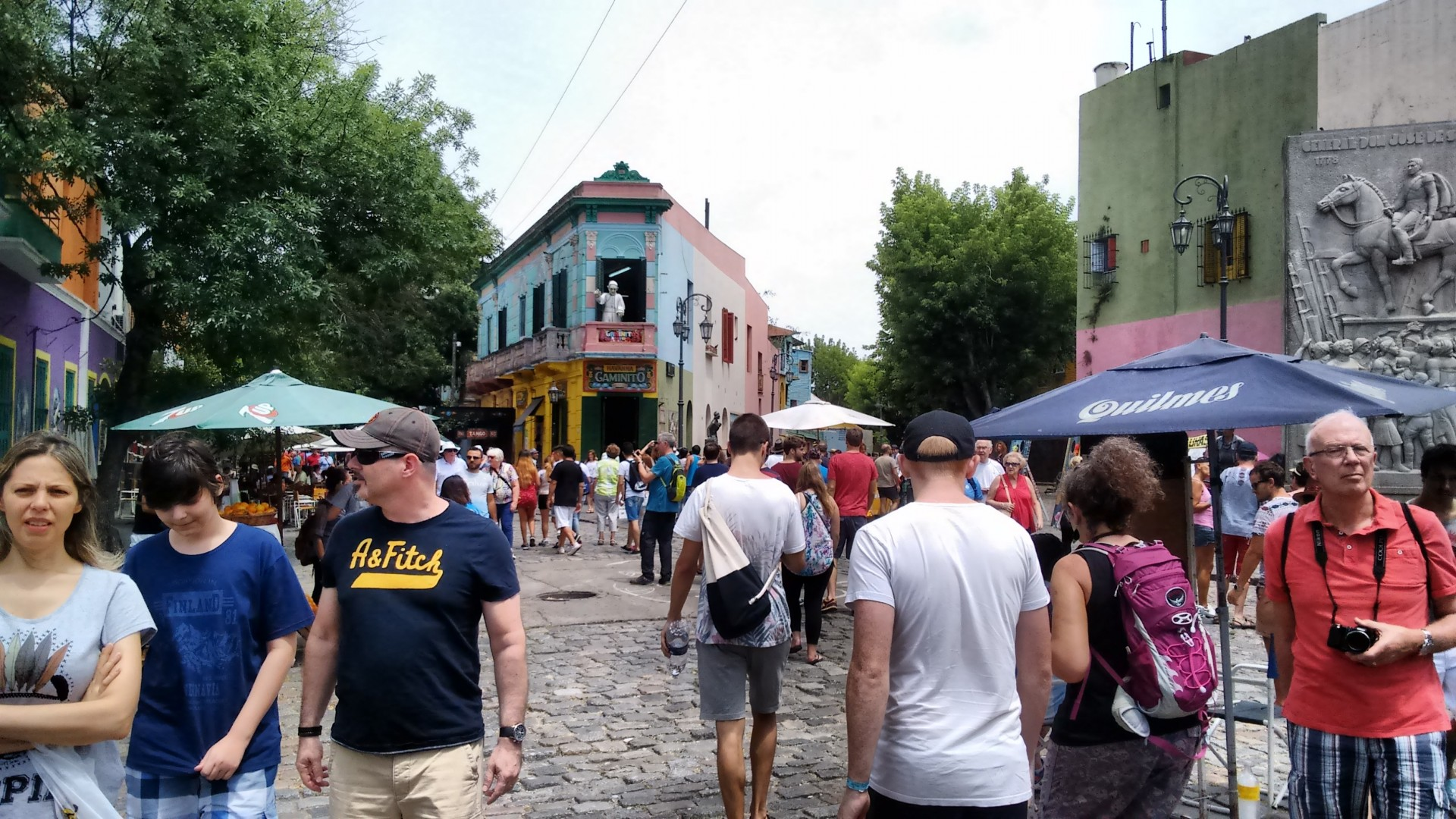 It's La Boca. Plus half of the tourists in Buenos Aires...