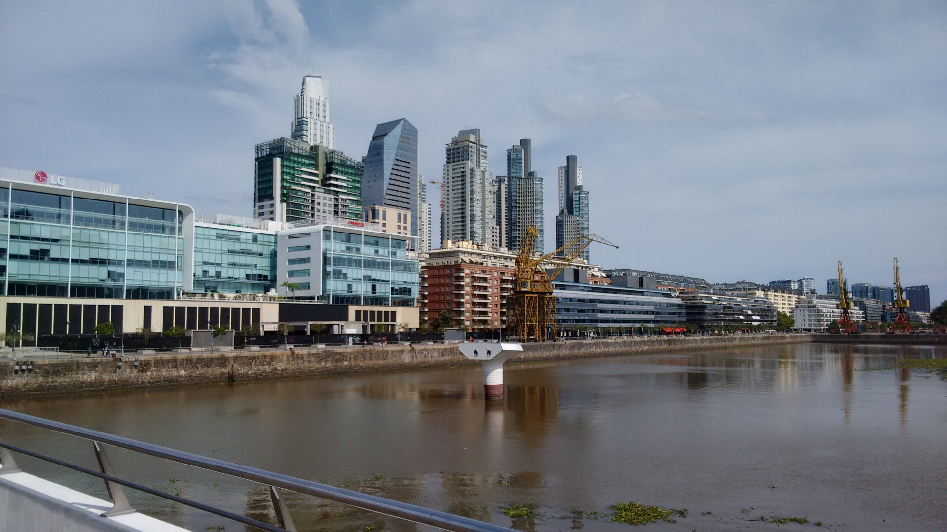 Puerto Madero, or every other big city near a river?