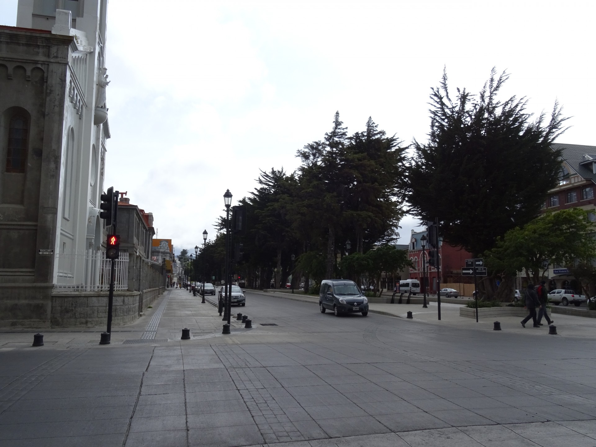 It's clean and neat in Punta Arenas.