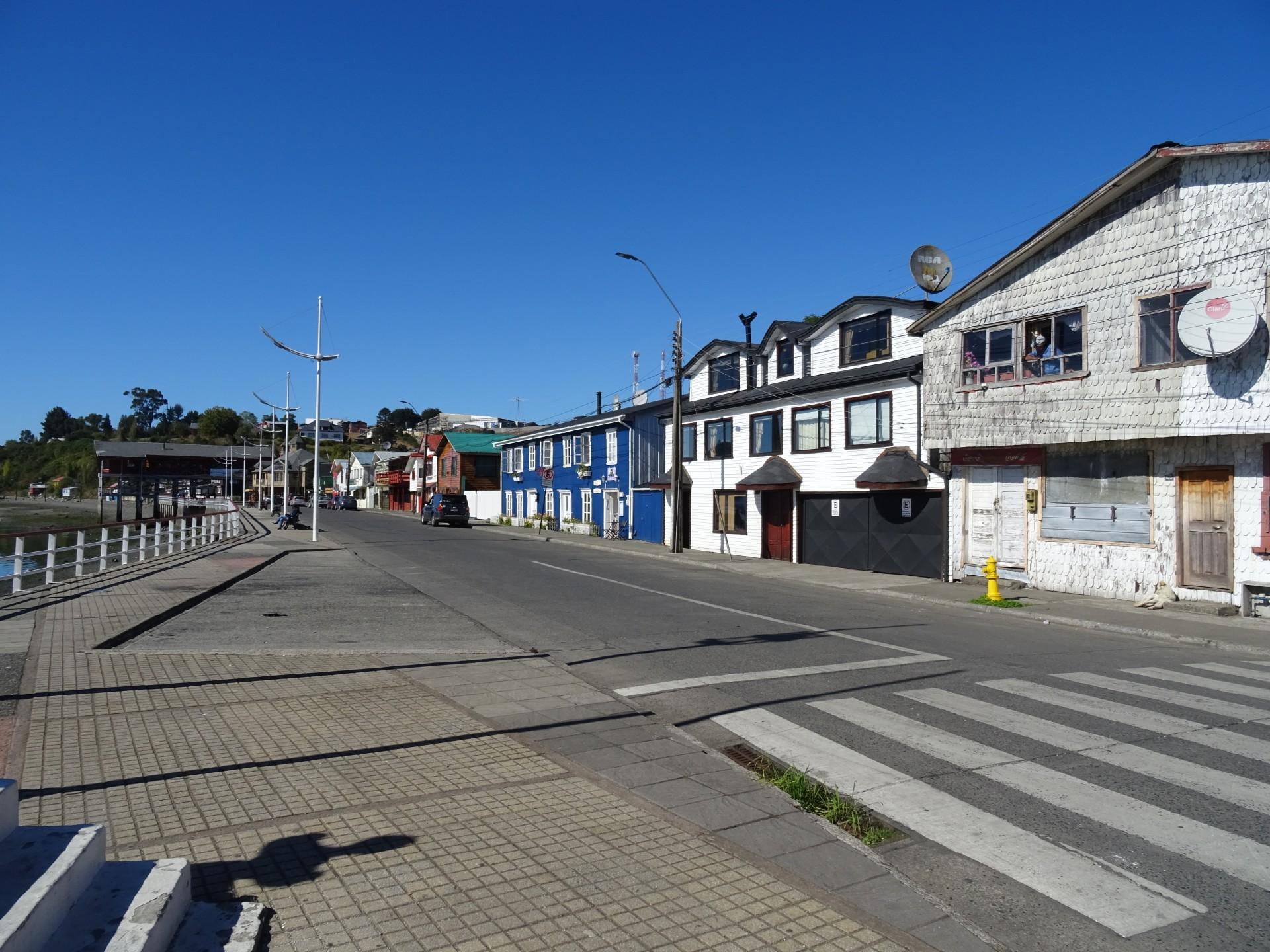 Chonchi seafront.