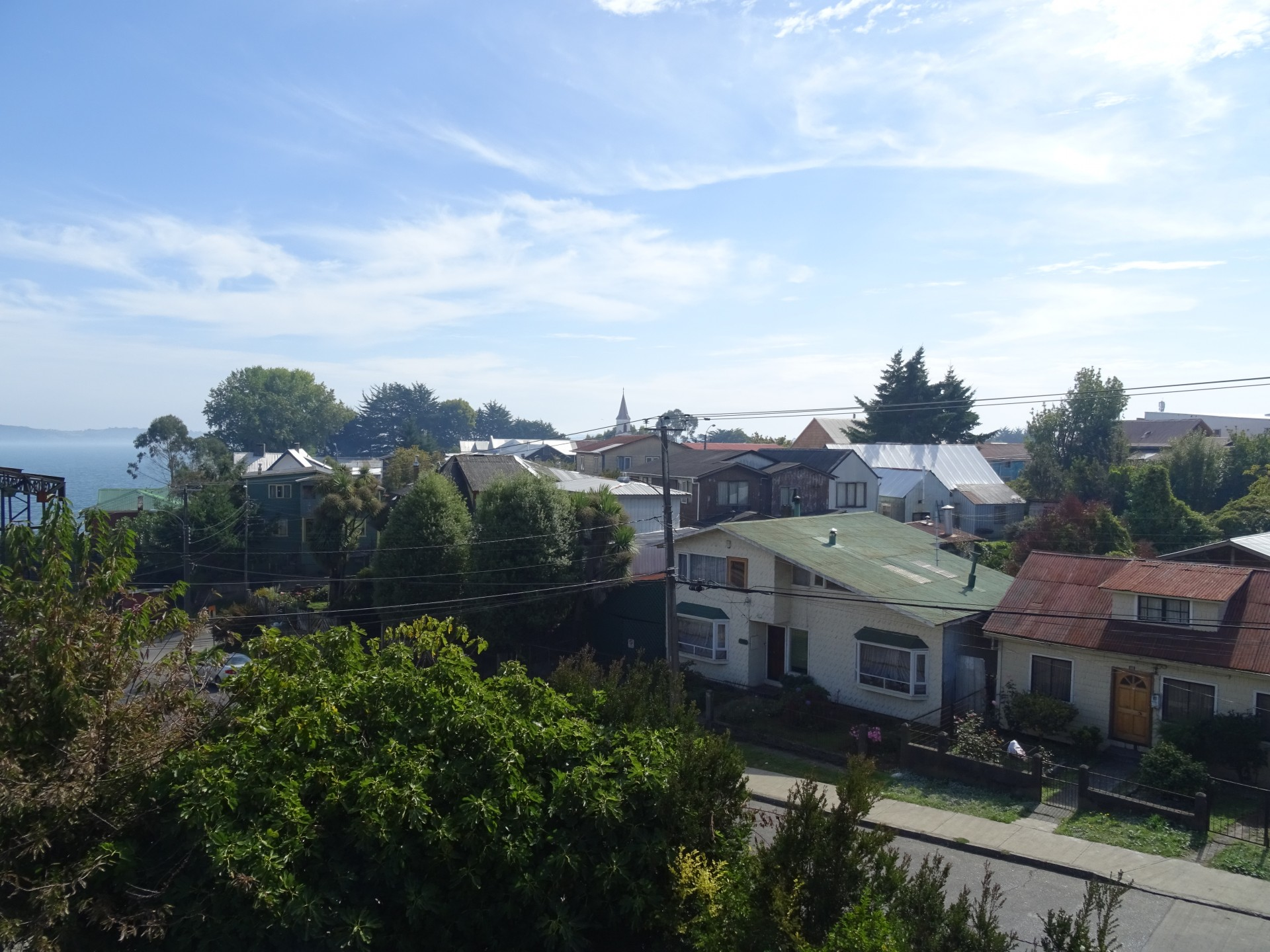 The views remain great in Ancud.