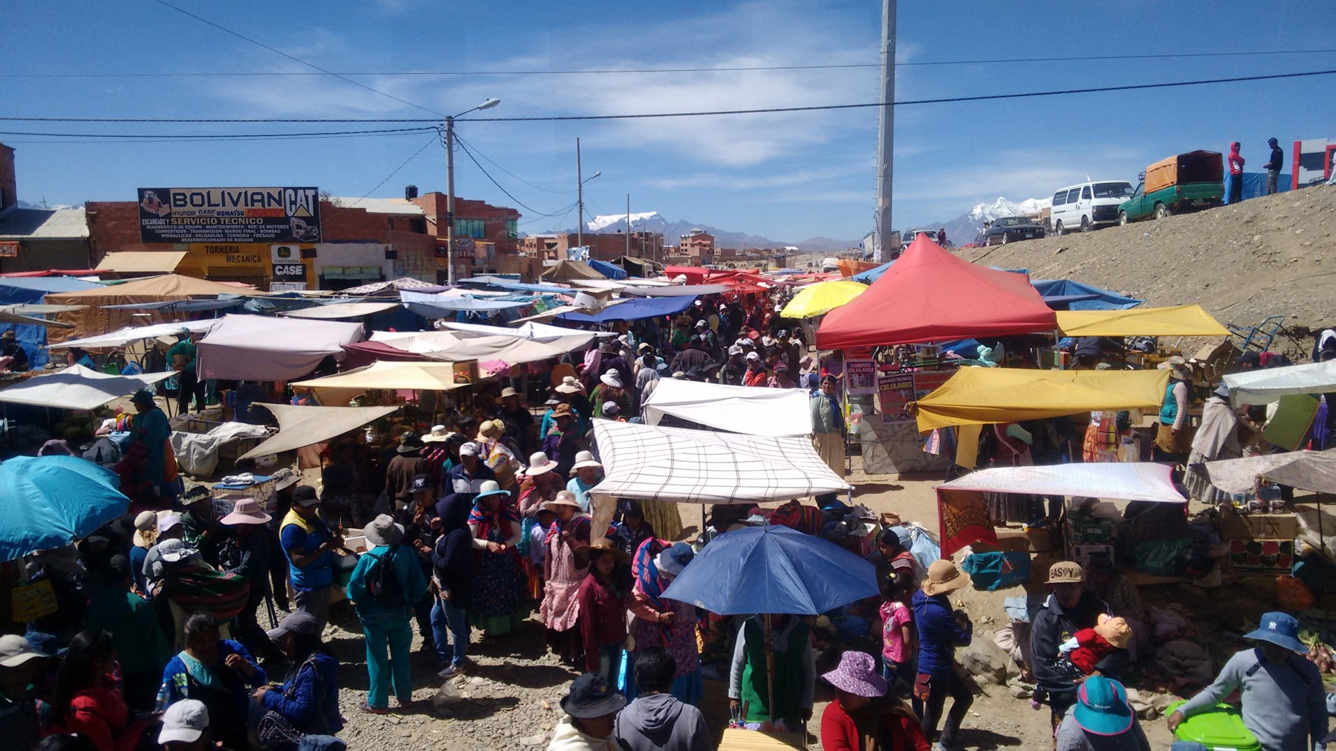 Markets in El Alto