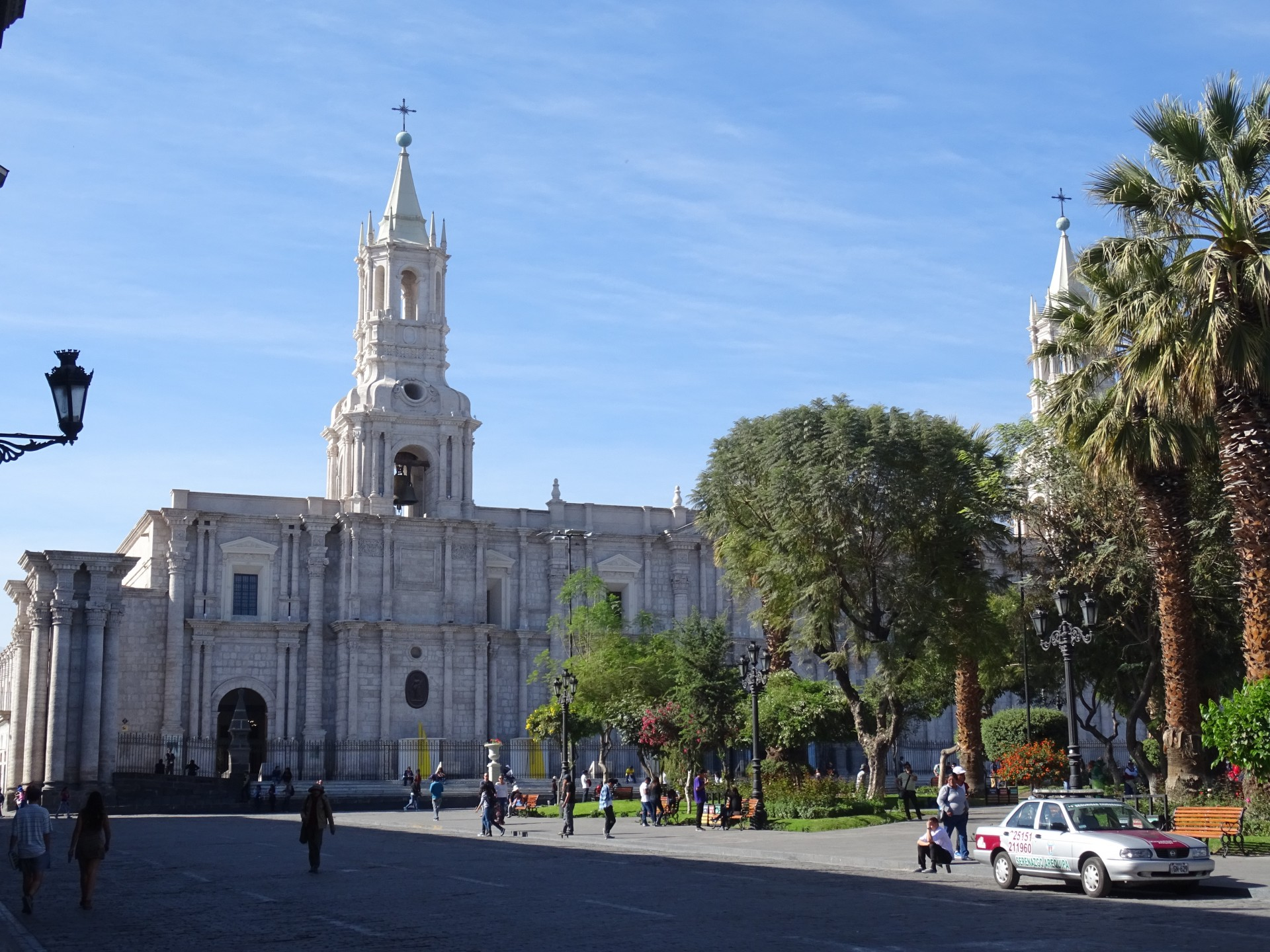 The white city of Arequipa.