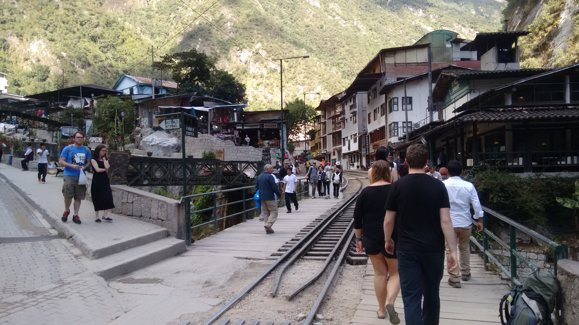 Aguas Calientes isn't so bad. Ninety percent of the population may be tourists, but still...
