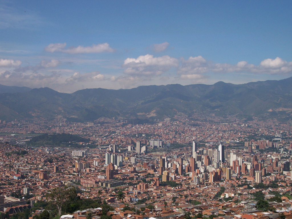 Medellin. It's a big place.