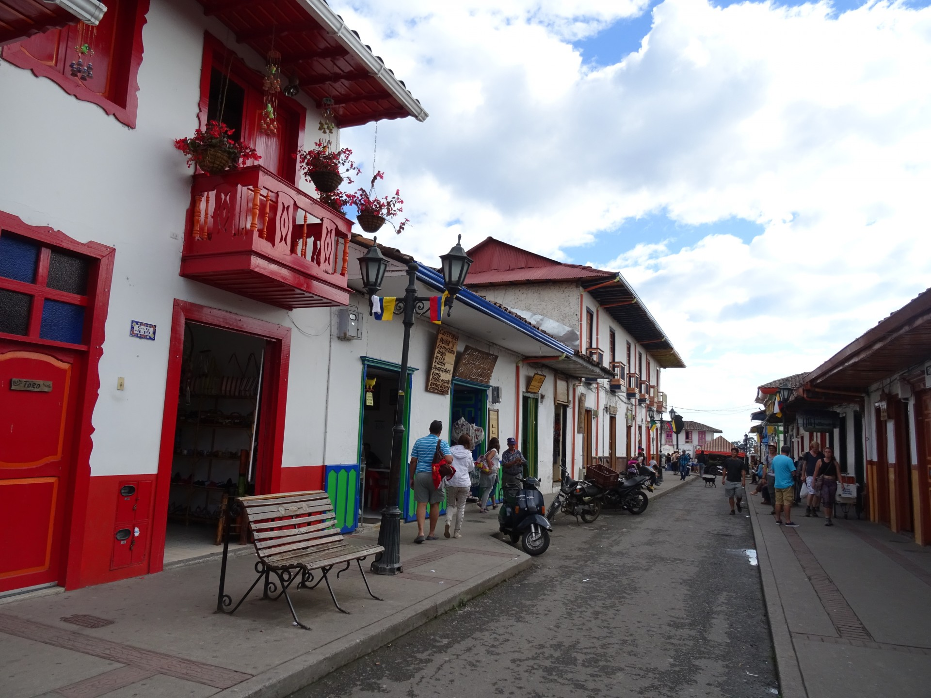 Coffee town, Colombia.