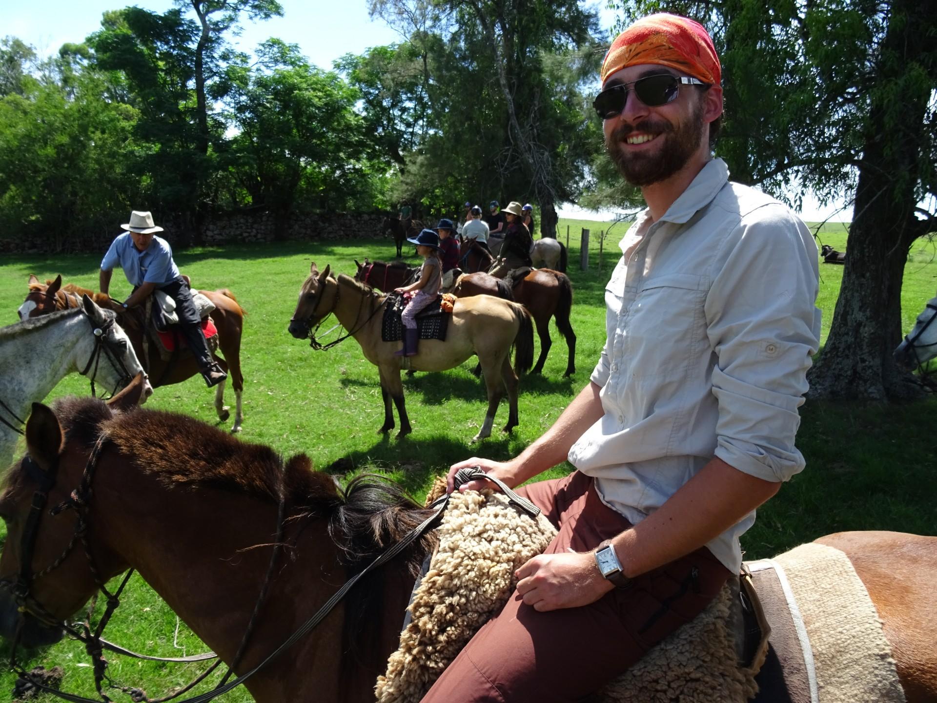 Meet Doug - Possible expert horserider.