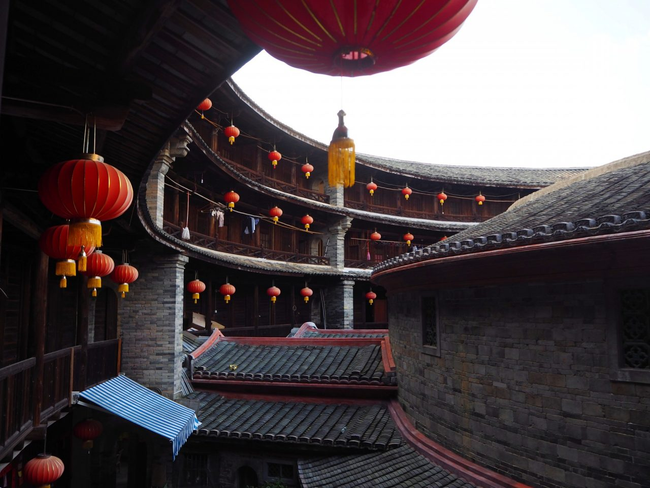 Layers of Tulou
